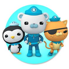 Henry just got into Octonauts, seems action-packed, but in a non-threatening, non-violent way, at least from the little I've watched of it.