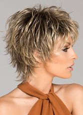Women Short Wigs 2019 Flaxen Wave Curly Tousled Synthetic Wigs - coke - Image Sharing WorldPixie Short Choppy Hairstyles Over 50 short hairstylesUnique Short Hairstyles With Bangs For Thick Hair Short Hairstyles For Black Women Over 50 Shorter Short Shag Hairstyles, Short Layered Haircuts, Short Hairstyles For Women, Pixie Haircuts, Winter Hairstyles, Hairstyles Men, Wedding Hairstyles, Haircut Short, African Hairstyles