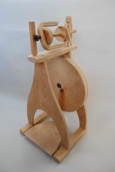 I bought this spinning wheel back in the 70s from Halcyon, the Weaver's Friend in Denver