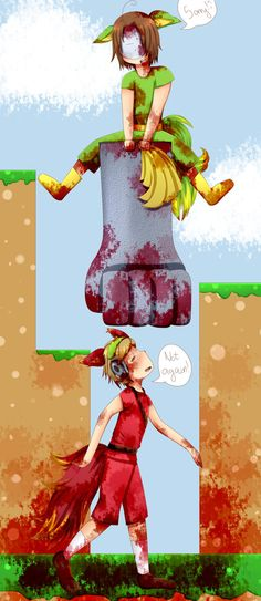 pewdiepie and cry in bloody trapland