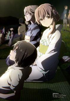 Nishimiya Shouko, Nishimiya Yuzuru