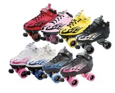The Rock Flame Speed Skate offers deluxe synthetic leather uppers. Cambrelle lining, comfort padded collar, cushioned contour insole