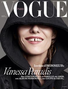 Vanessa Paradis by Karim Sadli for Vogue Paris December/January 2015/2016 cover