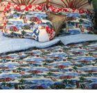 Hawaiian Bedding Red Woody Twin Duvet Cover