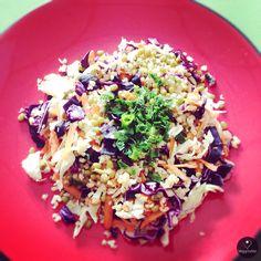 Salada de Bulgur com Feijão Mungo | Bulgur Salad with Mung Beans