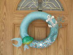 Under the sea wreath   Under The Sea Wreath--Summer Wreath-Anchor Wreath--Beach Decor--14 ...