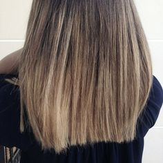 Ombre hair / Ash Blonde. By Daphne