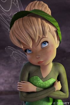 Tink looks less than thrilled...✨