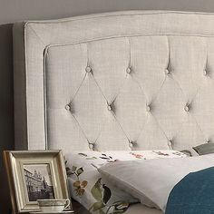Found it at Wayfair - Gabriel Upholstered Panel Bed