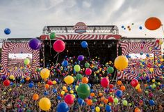 Sziget Festival Budapest - stage