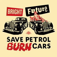 Bright Future Large Format (Red, Black) - OBEY GIANT