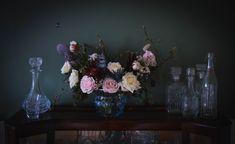 Scottish Flowers, Second Weddings, Flower Farm, Glass Vase, Daisy, Bouquet, Floral, Home Decor, Decoration Home