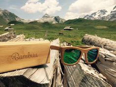 #Bambus #Holz #Sonnenbrillen #bambuu Mirrored Sunglasses, Fashion, Glasses, Woodwind Instrument, Bamboo, Wooden Sunglasses, Moda, Fasion, Fashion Illustrations