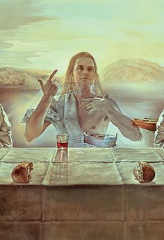 Dalí's painting, <em>The Sacrament of the Last Supper,</em> can be jarring, even shocking, to both Christian and secular viewers. That is precisely the point. An empty place at the table invites you to share in the sacrament. But only on your knees.