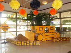 "Photo 2 of Construction / Birthday ""Juan Camilo Birthday Party"" Construction Theme Classroom, Under Construction Theme, Construction Party Decorations, Construction Birthday Parties, Construction Crafts, Vbs Themes, Food Themes, Birthday Fun, Birthday Party Themes"