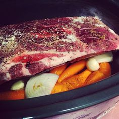 My Path to Paleo: Crockpot Pork Roast - I made this with rosemary and thyme instead of caraway and it was amazing.