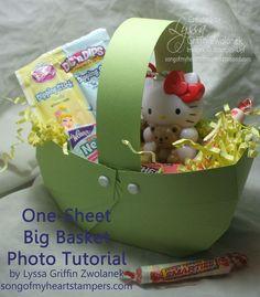DSCF3790 copy - Song of My Heart Stampers - Lyssa - Photo Tutorial: One-Sheet Big Basket