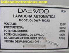 Código de error E1 y E2 en lavadora Daewoo, no bota agua ☹ Solucionado✔ Nos llegó al taller esta lavadora Daewoo modelo DWF-190JG, a continuación mostramos el modelo y la nomenclatura como dato. Con las siguientes imágenes iremos explicando paso a paso por que se origina esta falla. Primero empezamos a probar como trabaja en lavado y si se originaba la falla desde ese punto… consultamos al cliente cual es el problema, nos informa que no hace el centrifugado y en la pantalla sale un error. Al…