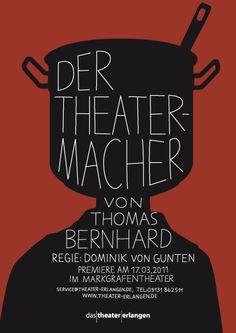 Plakatserie für das Stadttheater Erlangen