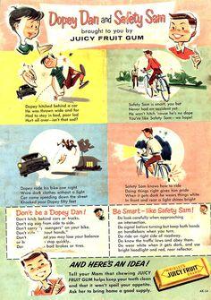 https://flic.kr/p/6XENq | JuicyFruit | Comic book ad Unsigned 1950's