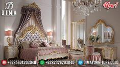 Ornament Louvre Tempat Tidur Mewah Jepara Luxury Carving Best Product TTJ-0955