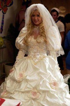 The Best & Worst Wedding Dresses In TV And Movie History - 24/7 Mirror Worst Wedding Dress, Movie Wedding Dresses, Wedding Movies, Wedding Scene, Stunning Wedding Dresses, Wedding Gowns, Wedding Day, Royal Dresses, Greek Wedding