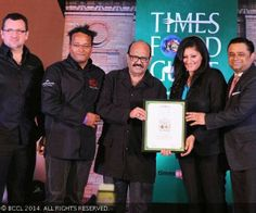 MONDAY, FEBRUARY 3, 2014  Times Food Guide Awards '14 - Winners : Delhi : Le Cirque New Delhi for Best European, three years in a row!
