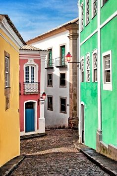 Brazil, Salvador, Bahia, Pelourinho my second home