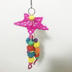 Parrot Rattan Ball Rattan Knitting Gnawing Toy Parrot Swing Stand Bird Toy Parrot Supplies Source by petstoreinc Diy Chinchilla Toys, Diy Bird Toys, Parrot Bird, Cat Supplies, Rattan, Crochet Earrings, Swings, Knitting, Blog