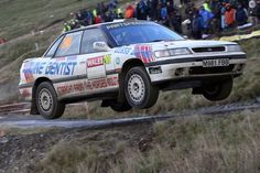 Peter Hancock / Neil Griffiths Subaru Legacy, 19th. o/l out of 58 finishers, 89 starters of the 3 day Wales GB, Network Q Rally.