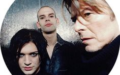"""wingedbelievereagle: """"  DAVID BOWIE AND PLACEBO …1998.  NEW RELEASE SCHEDULED FOR APRIL 22,2017 http://www.nme.com/news/music/placebo-share-rare-footage-working-david-bowie-2055607#..."""