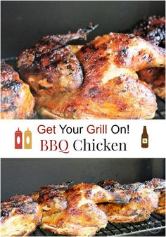 This BBQ Chicken with my homemade BBQ Sauce is the grilling Bomb! It's sweet, tangy, moist and delicious. It's a Blue Ribbon winner for any family gathering. Get you grill on for this summer and enjoy some delicious BBQ Chicken.