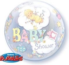 Precious Baby 22 Bubble Balloons -- Want to know more, click on the image.