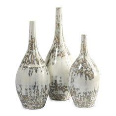 Hampton Mexican Pottery Vases - Set of 3