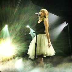one of my favorite dresses from her concert(: