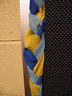 Braided Crepe Paper Border (from The Fantastic Five)
