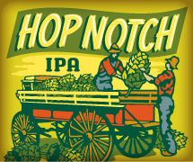 Uinta Hop Notch IPA from Utah. This beer combines and abundance of hops with smooth malt
