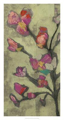 Impasto Flowers I, World Art Group, by Jennifer Goldberger