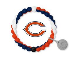 Learn to find the balance in everyday. This Chicago Bears Lokai bracelet is made to remind the wearer to stay humble during life's high points and hopeful during low points in life. Chicago Bears Gear, Chicago Bears Super Bowl, Stay Humble, Bear Design, Free Black, White Beads, Fine Jewelry, Unisex, Team Wear