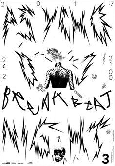 papírna plzeň / psycho DJ night / 2017 / poster design > Lukáš Beran (silkcreen)
