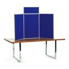 Folding Display Boards for Hire Rent - Senior Table Top Kit | Exhibition & Display Boards For Hire Rent | Products