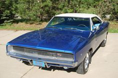 1968 Dodge Charger - If you've got an old car you love, we want to hear about it. Email us at oldcars@krause.com
