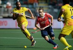 India lost to England in the final minute of the match played against England of the Rabobank Hockey World Cup 2014, being played at the Kyocera Stadium, The Hague, Netherlands. India lost the match by 2-1.