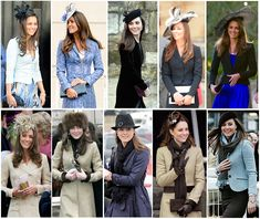 Kate's different hats #gorgeous