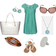 """Green"" by jossiebristow on Polyvore"