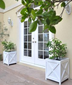 french doors and pla
