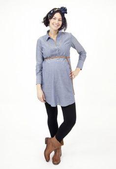 Maternity Dresses Tux Tunic Dress