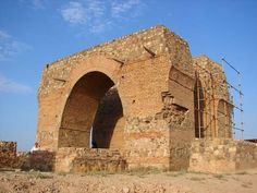 Bahram Fire temple, Mil Hill or Rey Fire temple (Persian: آتشکده بهرام or تپه میل or آتشکده ری) is one of the historical religious places in Rey, Iran which has stood since the Sassanid Empire. Mil Hill is assumed to be Bahram V Fire temple. Persian Architecture, Religious Architecture, Mazda, Iran, Parthian Empire, Sassanid, Achaemenid, Cradle Of Civilization, Ancient Persia