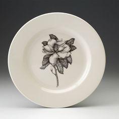 Laura Zindel Design - Dinner Plate: Magnolia, $50.00 (http://www.laurazindel.com/dinner-plate-magnolia/)