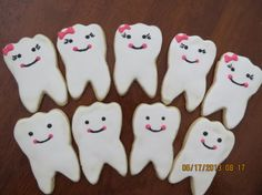 Higienista Dental de dientes galletas para dentista